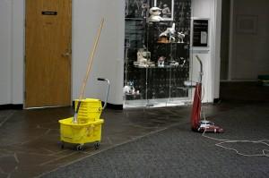 Az irodatakarítás napi feladat