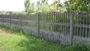 Jó védelmet nyújt a betonkerítés