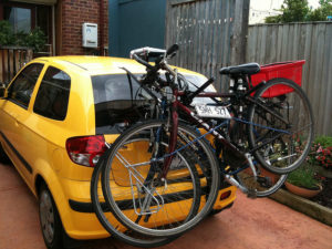Bicikli szállító