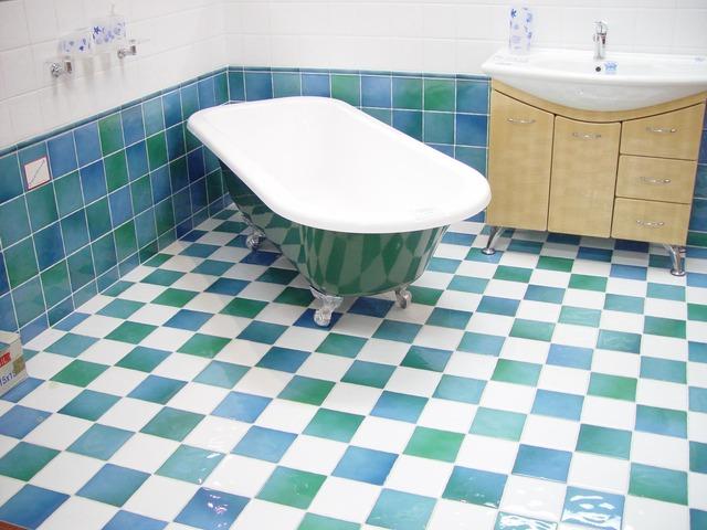 Higiénikus takarítás a fürdőszobában