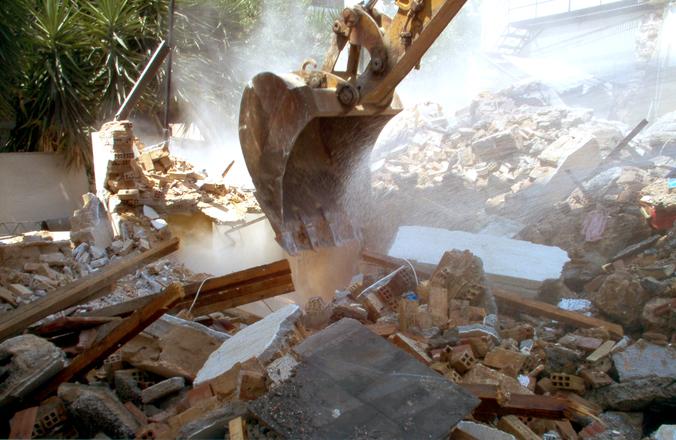 építési törmelék elszállítása szakszerűen